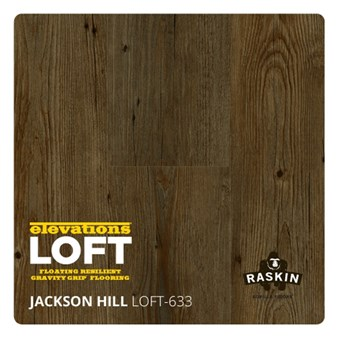 Raskin Elevations Loft Plank: Jackson Hill Floating Luxury Vinyl Plank R-LOFT-633