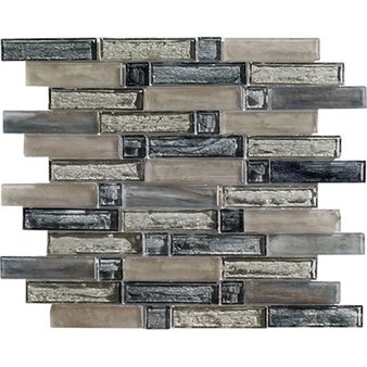 "Marazzi Caicos: Grace Beach 12"" x 12"" Glass Mosaic Tile ULMZ"