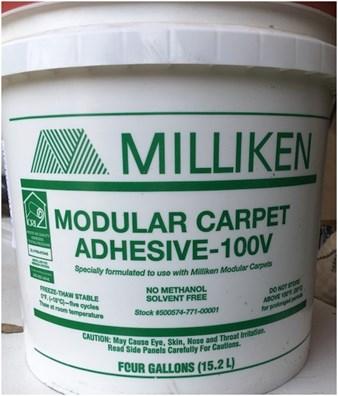 Milliken Modular 100V Adhesive - 4 Gallon Bucket | Efloors.com