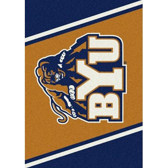 "Milliken College Team Spirit (NCAA) Brigham Young 74385 Spirit Rectangle (4000019235) 5'4"" x 7'8"" Area Rug"