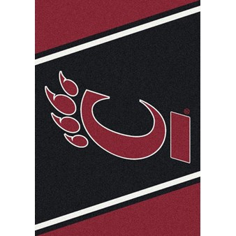 "Milliken College Team Spirit (NCAA) Cincinnati 00402 Spirit Rectangle (4000019157) 5'4"" x 7'8"" Area Rug"