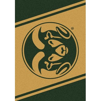 "Milliken College Team Spirit (NCAA) Colorado State 74232 Spirit Rectangle (4000019332) 7'8"" x 10'9"" Area Rug"