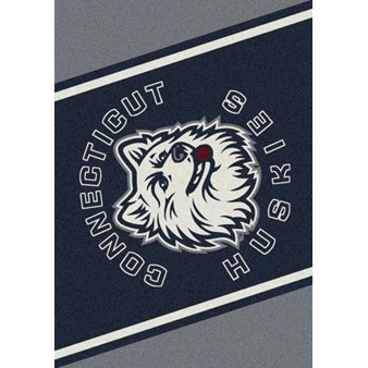 "Milliken College Team Spirit (NCAA) Connecticut 45292 Spirit Rectangle (4000019178) 5'4"" x 7'8"" Area Rug"