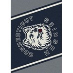 "Milliken College Team Spirit (NCAA) Connecticut 45292 Spirit Rectangle (4000019299) 7'8"" x 10'9"" Area Rug"