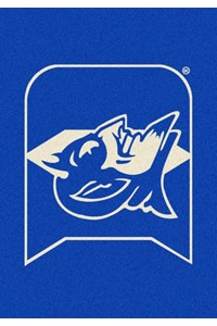 Milliken College Team Spirit (NCAA) Duke 79544 Spirit Rectangle (4000019501) 2'8