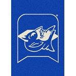 "Milliken College Team Spirit (NCAA) Duke 79544 Spirit Rectangle (4000019501) 2'8"" x 3'10"" Area Rug"