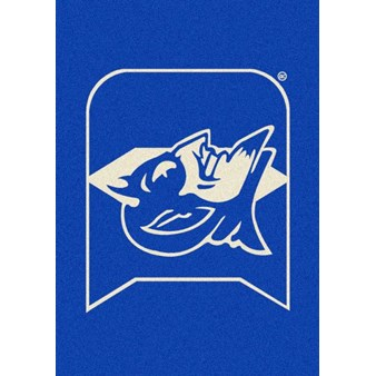 "Milliken College Team Spirit (NCAA) Duke 79544 Spirit Rectangle (4000019147) 3'10"" x 5'4"" Area Rug"