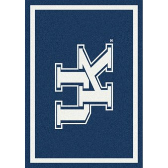 "Milliken College Team Spirit (NCAA) Kentucky 74375 Spirit Rectangle (4000019462) 2'8"" x 3'10"" Area Rug"