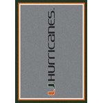 "Milliken College Team Spirit (NCAA) Miami 74386 Spirit Rectangle (4000019469) 2'8"" x 3'10"" Area Rug"