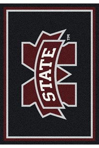Milliken College Team Spirit (NCAA) Mississippi State 45285 Spirit Rectangle (4000019407) 2'8