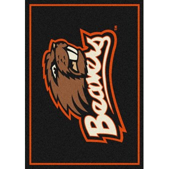 "Milliken College Team Spirit (NCAA) Oregon State 45907 Spirit Rectangle (4000019304) 7'8"" x 10'9"" Area Rug"