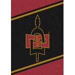 "Milliken College Team Spirit (NCAA) San Diego State 44738 Spirit Rectangle (4000019045) 3'10"" x 5'4"" Area Rug"