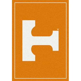 "Milliken College Team Spirit (NCAA) Tennessee 74365 Spirit Rectangle (4000019342) 7'8"" x 10'9"" Area Rug"
