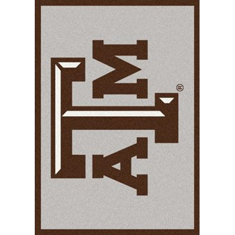 "Milliken College Team Spirit (NCAA) Texas A&M 74367 Spirit Rectangle (4000019344) 7'8"" x 10'9"" Area Rug"