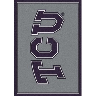 "Milliken College Team Spirit (NCAA) Texas Christian 79801 Spirit Rectangle (4000019509) 2'8"" x 3'10"" Area Rug"