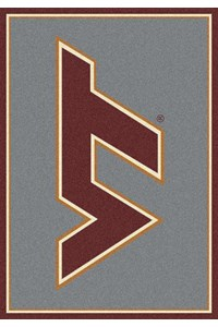 Milliken College Team Spirit (NCAA) Virginia Tech 74159 Spirit Rectangle (4000019425) 2'8