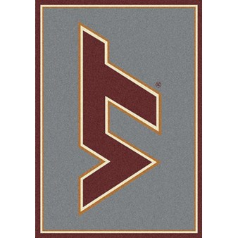 "Milliken College Team Spirit (NCAA) Virginia Tech 74159 Spirit Rectangle (4000019071) 3'10"" x 5'4"" Area Rug"