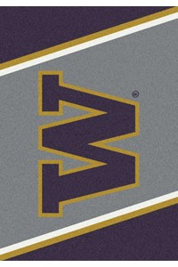 Milliken College Team Spirit (NCAA) Washington 33391 Spirit Rectangle (4000019394) 2'8