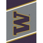 "Milliken College Team Spirit (NCAA) Washington 33391 Spirit Rectangle (4000019282) 7'8"" x 10'9"" Area Rug"