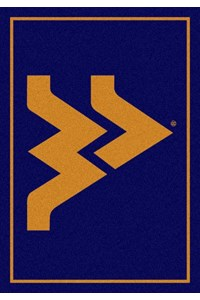 Milliken College Team Spirit (NCAA) West Virginia 79130 Spirit Rectangle (4000019495) 2'8