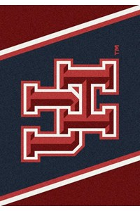 Milliken College Team Spirit (NCAA-SPT) Houston 00387 Spirit Rectangle (4000052849) 2'8