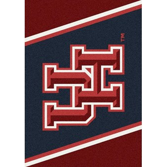"Milliken College Team Spirit (NCAA-SPT) Houston 00387 Spirit Rectangle (4000054374) 5'4"" x 7'8"" Area Rug"