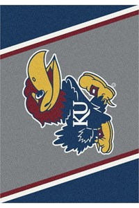 Milliken College Team Spirit (NCAA-SPT) Kansas 00386 Spirit Rectangle (4000053867) 2'8