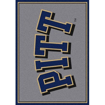 "Milliken College Team Spirit (NCAA-SPT) Pittsburgh 00394 Spirit Rectangle (4000052850) 2'8"" x 3'10"" Area Rug"