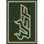 "Milliken College Team Spirit (NCAA-SPT) South Florida 01352 Spirit Rectangle (4000054556) 2'8"" x 3'10"" Area Rug"