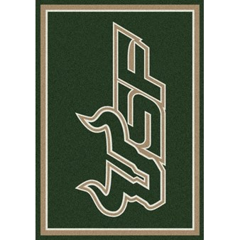 "Milliken College Team Spirit (NCAA-SPT) South Florida 01352 Spirit Rectangle (4000054390) 5'4"" x 7'8"" Area Rug"