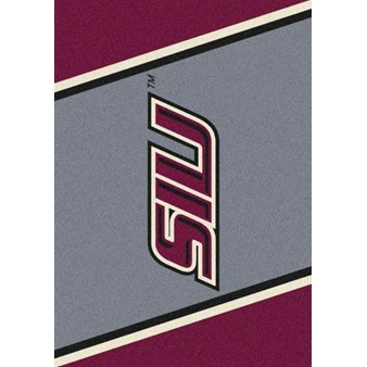 "Milliken College Team Spirit (NCAA-SPT) Southern Illinois 33390 Spirit Rectangle (4000054476) 7'8"" x 10'9"" Area Rug"