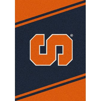 "Milliken College Team Spirit (NCAA-SPT) Syracuse 00388 Spirit Rectangle (4000053866) 5'4"" x 7'8"" Area Rug"