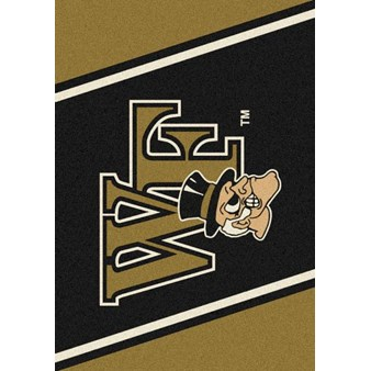 "Milliken College Team Spirit (NCAA-SPT) Wake Forest 00395 Spirit Rectangle (4000053223) 3'10"" x 5'4"" Area Rug"