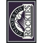 "Milliken MLB Team Spirit (MLB-S) Colorado Rockies 01005 Spirit Rectangle (4000054879) 2'8"" x 3'10"" Area Rug"