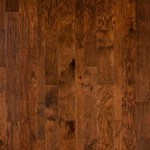 "LW Mountain Hand-Scraped Hickory: Buckskin 3/8"" x 5"" Engineered Hardwood LWELH-H1033"