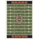 "Milliken NFL Team Home Field (NFL-F) Chicago Bears 01018 Home Field Rectangle (4000019886) 10'9"" x 13'2"" Area Rug"