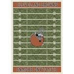 "Milliken NFL Team Home Field (NFL-F) Cleveland Browns 01024 Home Field Rectangle (4000019824) 5'4"" x 7'8"" Area Rug"