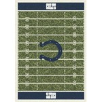 "Milliken NFL Team Home Field (NFL-F) Indianapolis Colts 01042 Home Field Rectangle (4000019830) 5'4"" x 7'8"" Area Rug"