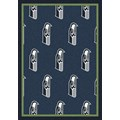 Milliken NFL Team Repeat (NFL-R) Seattle Seahawks 09083 Repeat Rectangle (4000096048) 3
