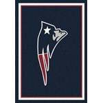 "Milliken NFL Team Spirit (NFL-S) New England Patriots 00956 Spirit Rectangle (4000095970) 10'9"" x 13'2"" Area Rug"