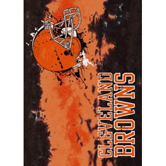 "Milliken NFL Team Fade (NFL-Fade) Cleveland Browns 02923 Fade Rectangle (4000107065) 3'10"" x 5'4"" Area Rug"