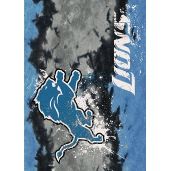 "Milliken NFL Team Fade (NFL-Fade) Detroit Lions 02932 Fade Rectangle (4000107070) 3'10"" x 5'4"" Area Rug"