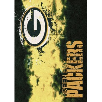 "Milliken NFL Team Fade (NFL-Fade) Green Bay Packers 02935 Fade Rectangle (4000107071) 3'10"" x 5'4"" Area Rug"