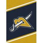 "Milliken NHL Team Spirit (NHL-S) Buffalo Sabres 01031 Spirit Rectangle (4000020300) 3'10"" x 5'4"" Area Rug"