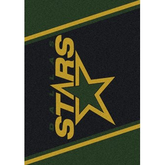 "Milliken NHL Team Spirit (NHL-S) Dallas Stars 01091 Spirit Rectangle (4000020374) 2'8"" x 3'10"" Area Rug"