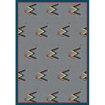 "Milliken MLB Team Repeat (MLB-R) Miami Marlins 01140 Repeat Rectangle (4000019696) 10'9"" x 13'2"" Area Rug"