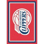 "Milliken NBA Team Spirit (NBA-S) Los Angeles Clippers 01012 Spirit Rectangle (4000052550) 5'4"" x 7'8"" Area Rug"