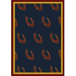 "Milliken NBA Team Repeat (NBA-R) Cleveland Cavaliers 01105 Repeat Rectangle (4000053036) 10'9"" x 13'2"" Area Rug"