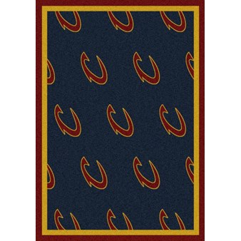 "Milliken NBA Team Repeat (NBA-R) Cleveland Cavaliers 01105 Repeat Rectangle (4000052754) 7'8"" x 10'9"" Area Rug"