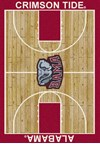 Milliken College Home Court (NCAA) Alabama 01010 Court Rectangle (4000018278) 3'10